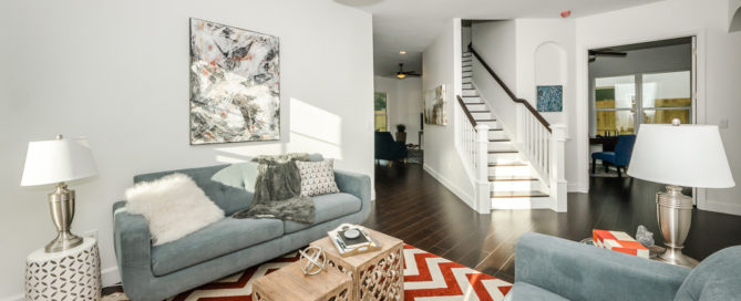 Tampa home builder - staging