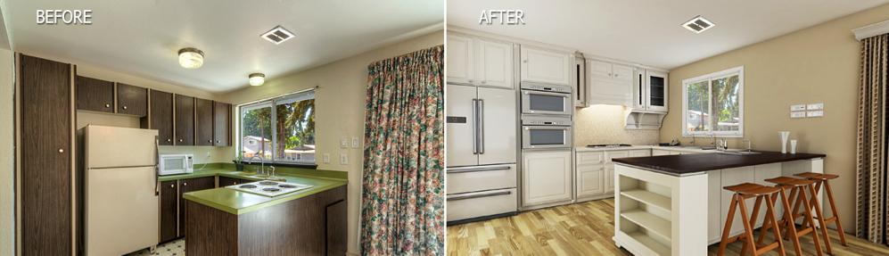 virtual renovation home frosting