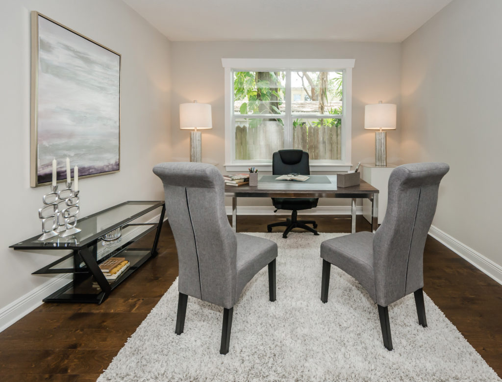 New construction home staging services