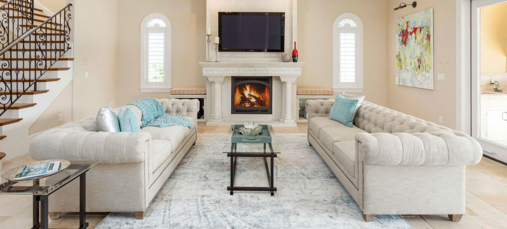 Home staging in Tampa example