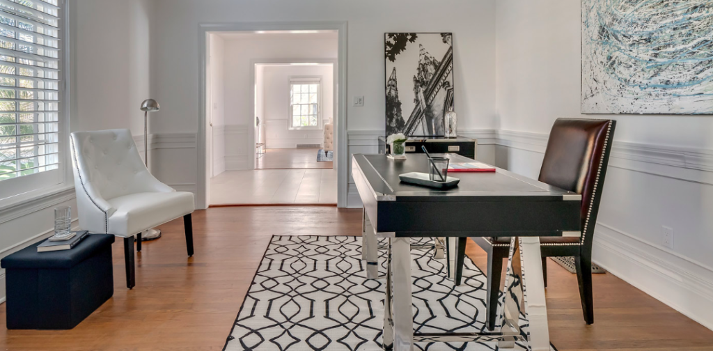Home staging an office