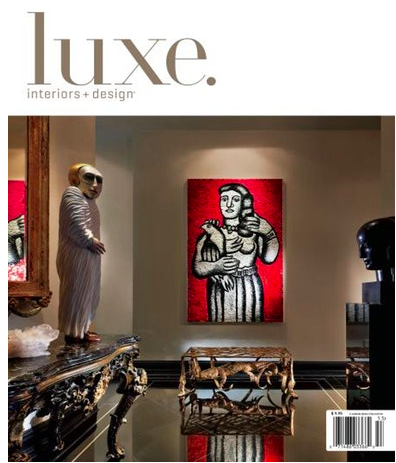 My favorite home decor magazines -Luxe Interiors and design