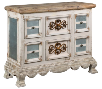 Distressed hutch