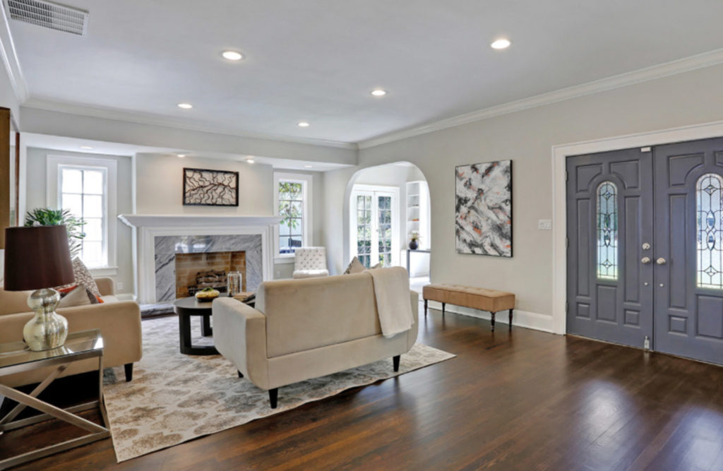 Traditional home staging