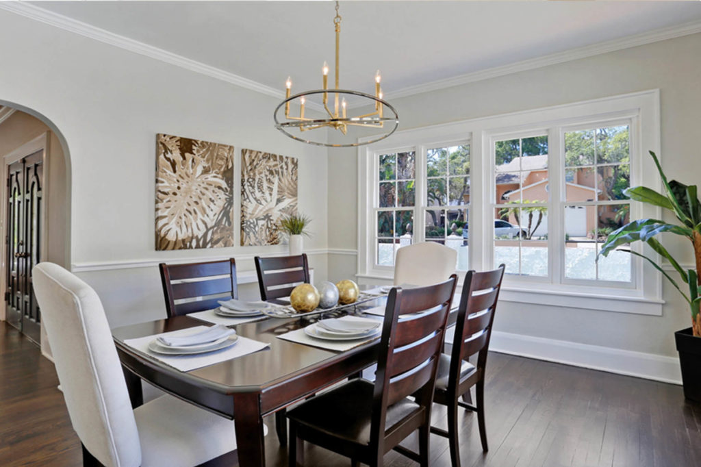 South Tampa home staging