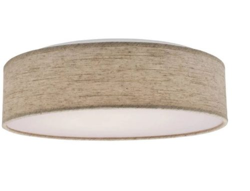 Beige LED 14″ drum light