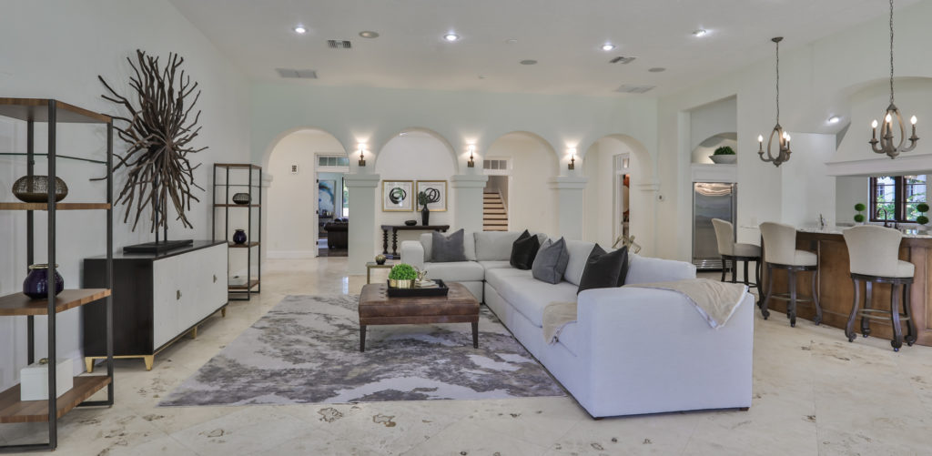 Spanish inspired luxury home in South Tampa