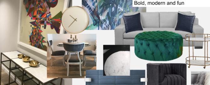 Modern luxury furniture rental Tampa