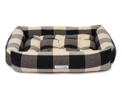 Buffalo check dog bed