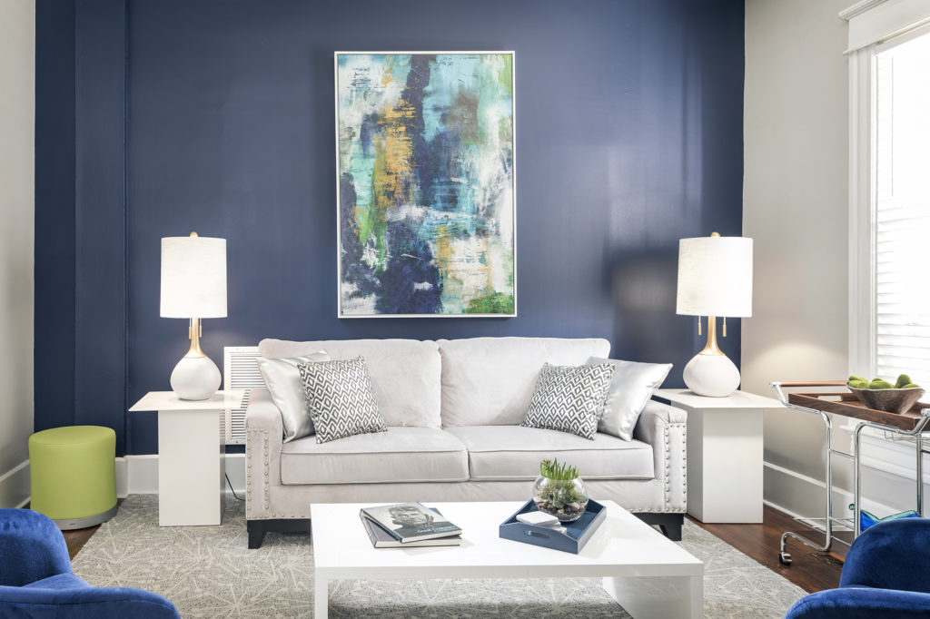 Best blue in home decor