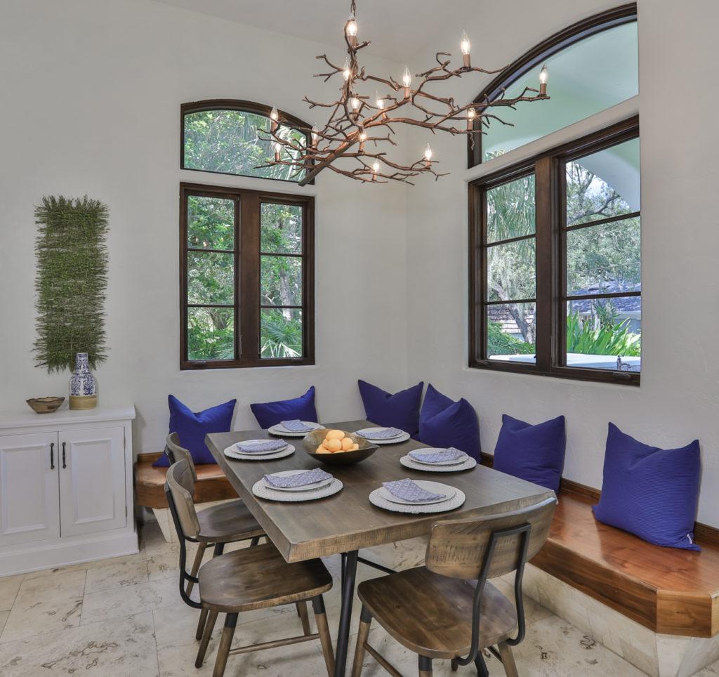 Classic blue home decor accessories