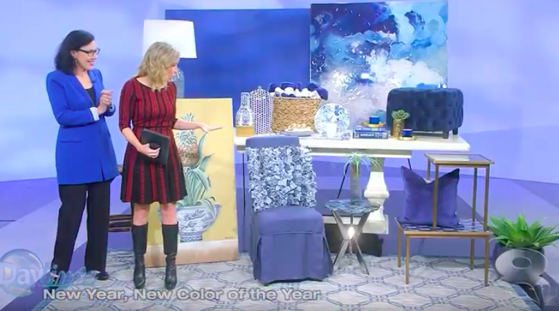 Daytime TV- Classic blue home decor ideas