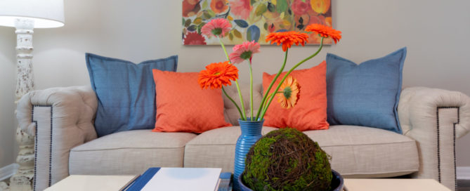Colorful home decor Tampa