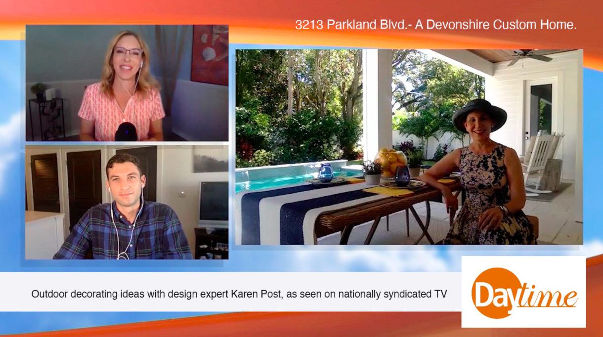 Daytime TV outdoor home decor tips