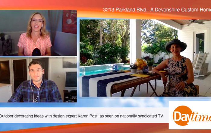 Daytime TV outdoor home decor tips