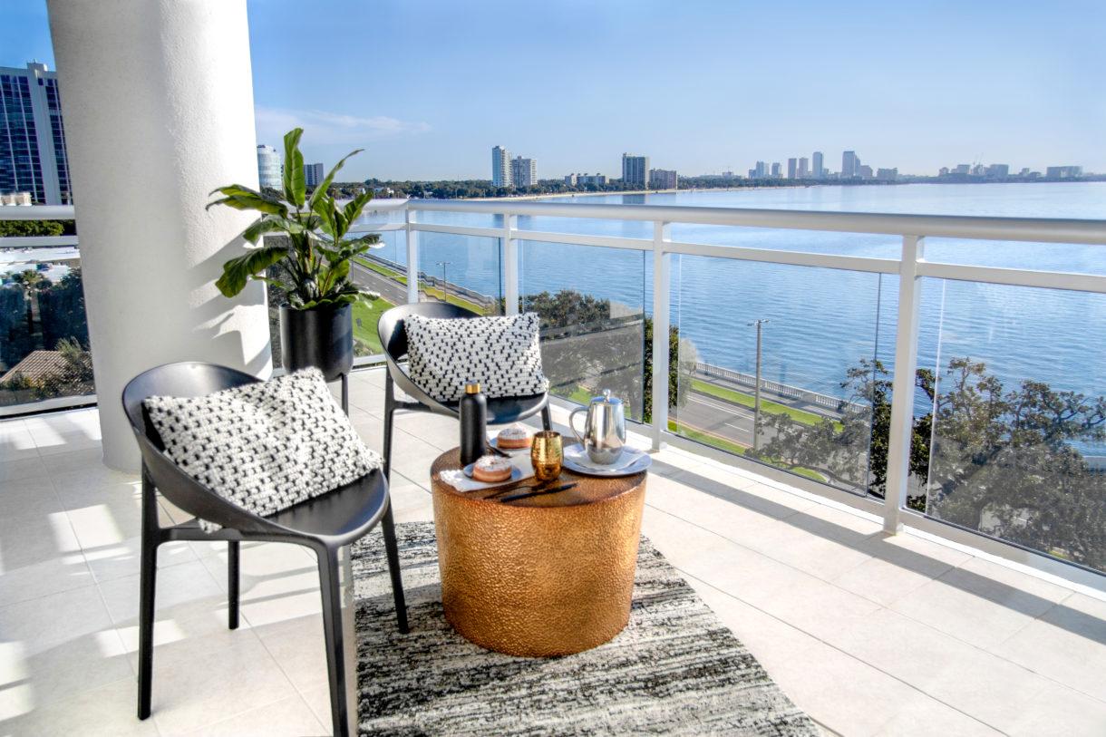 High-rise balcony decor ideas