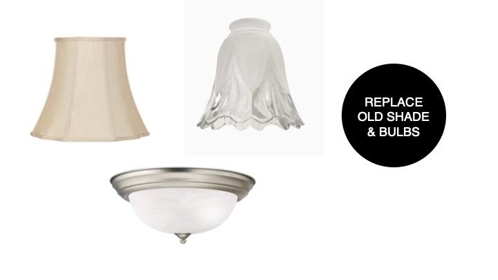 Ways to update home lighting
